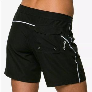 "🆕List! O'Neill 7"" Black Board Shorts! NEW!"